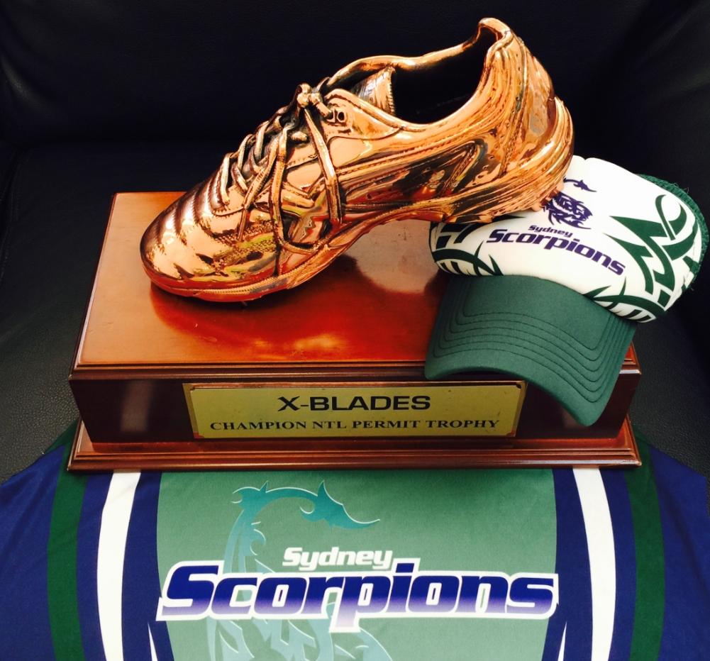 Scorps Golden Boot