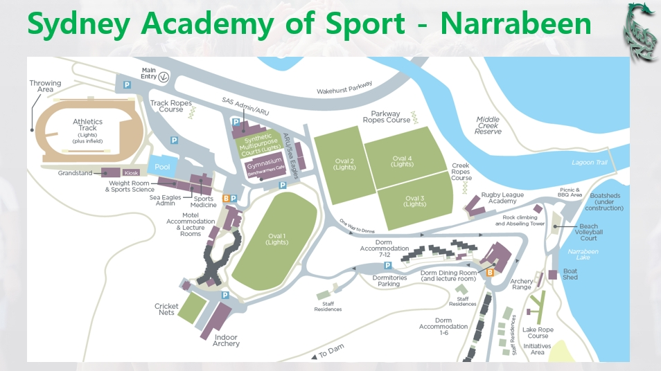 Narrabeen Sports Academy Map